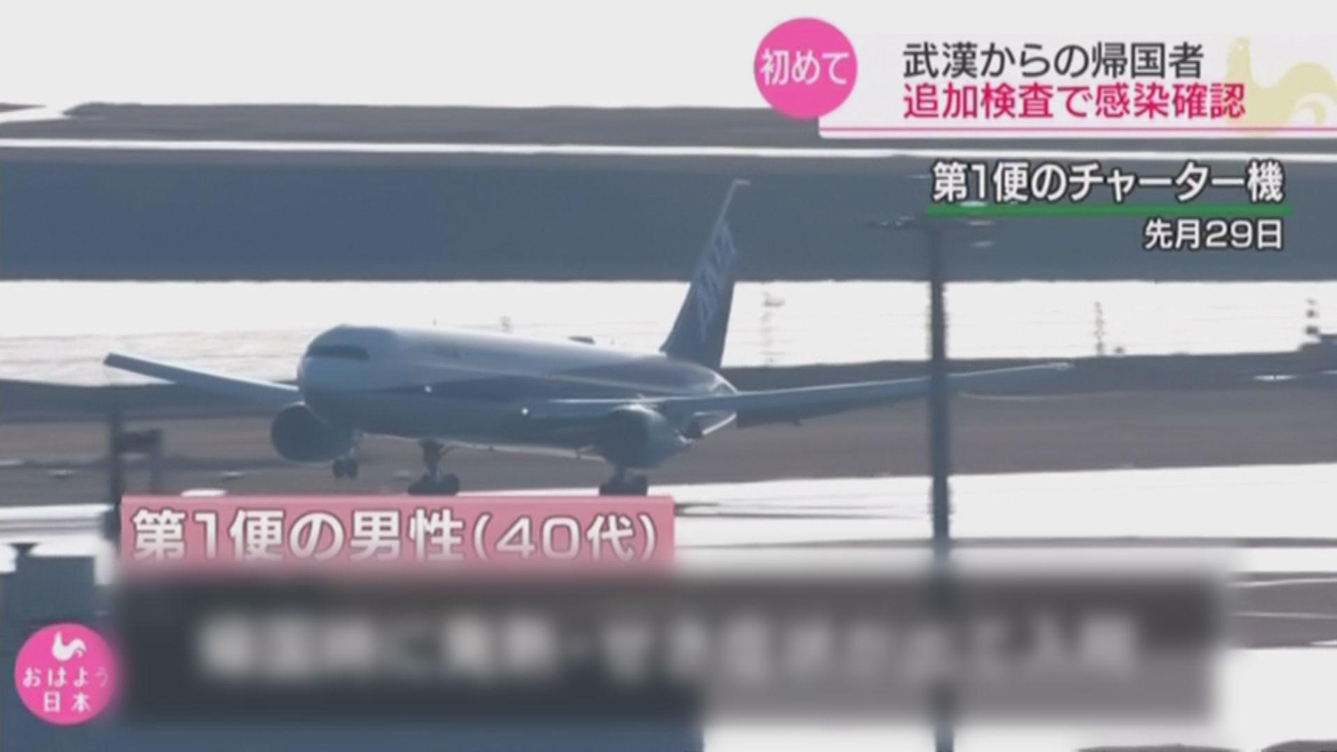 日本撤僑包機新增3人確診新型冠狀病毒