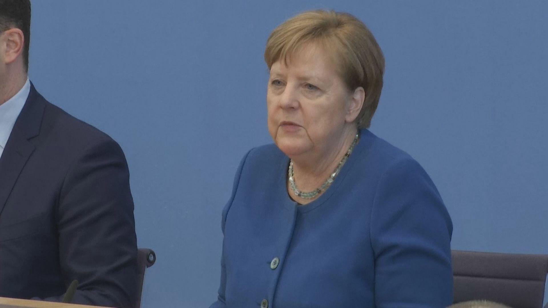 總理默克爾估計德國多達七成人感染