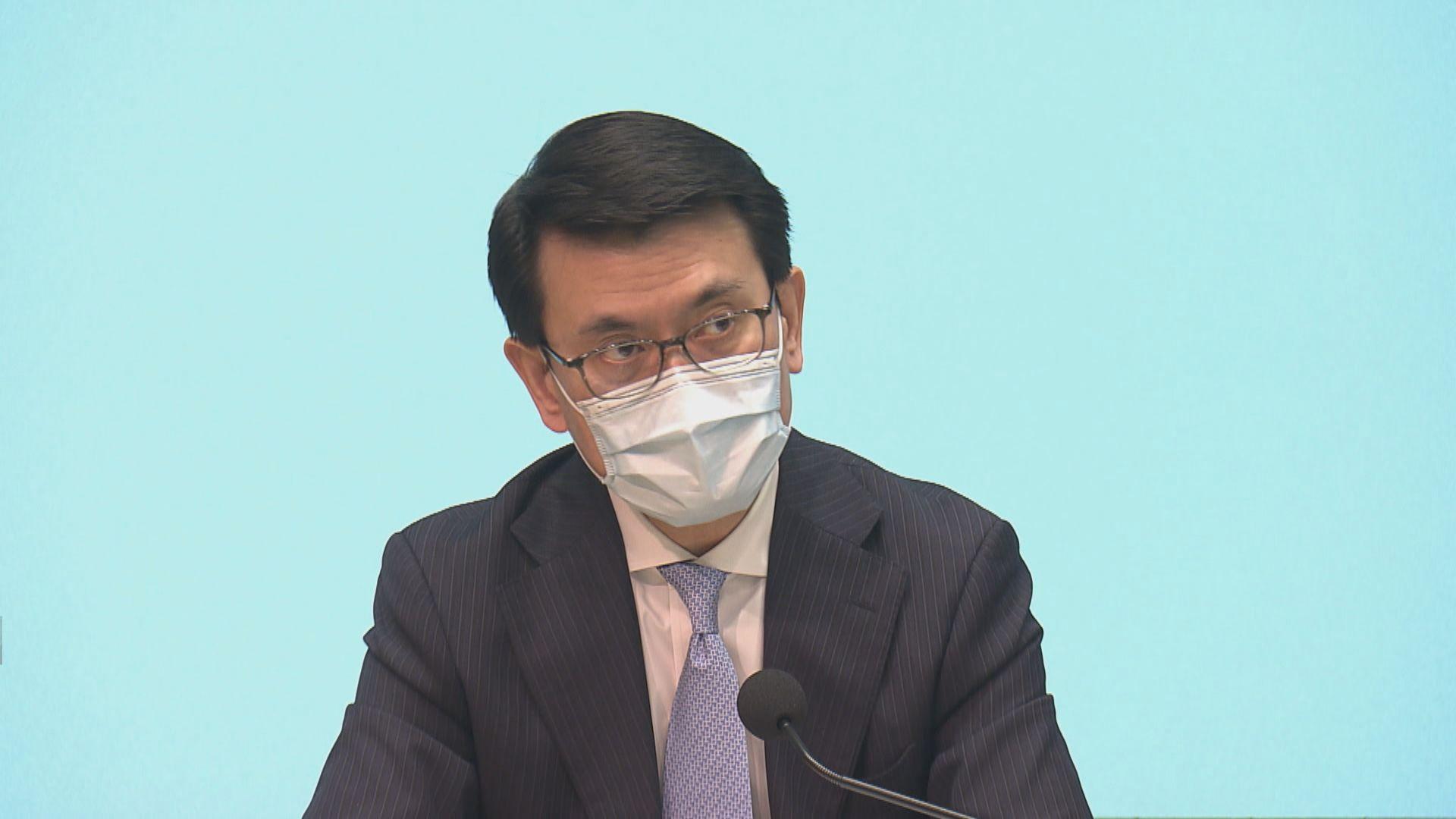 邱騰華:已與11國商討以旅遊氣泡方式恢復出行