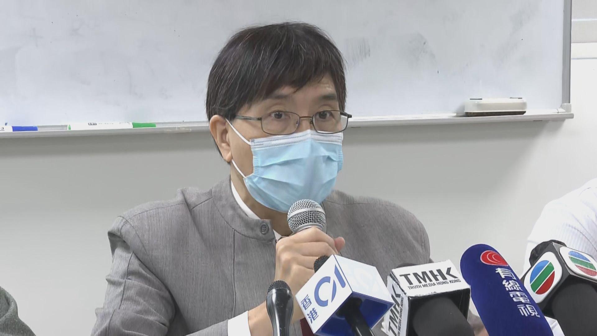 袁國勇:新冠病毒較沙士更快在肺部複製 疫情無可能七月前消失