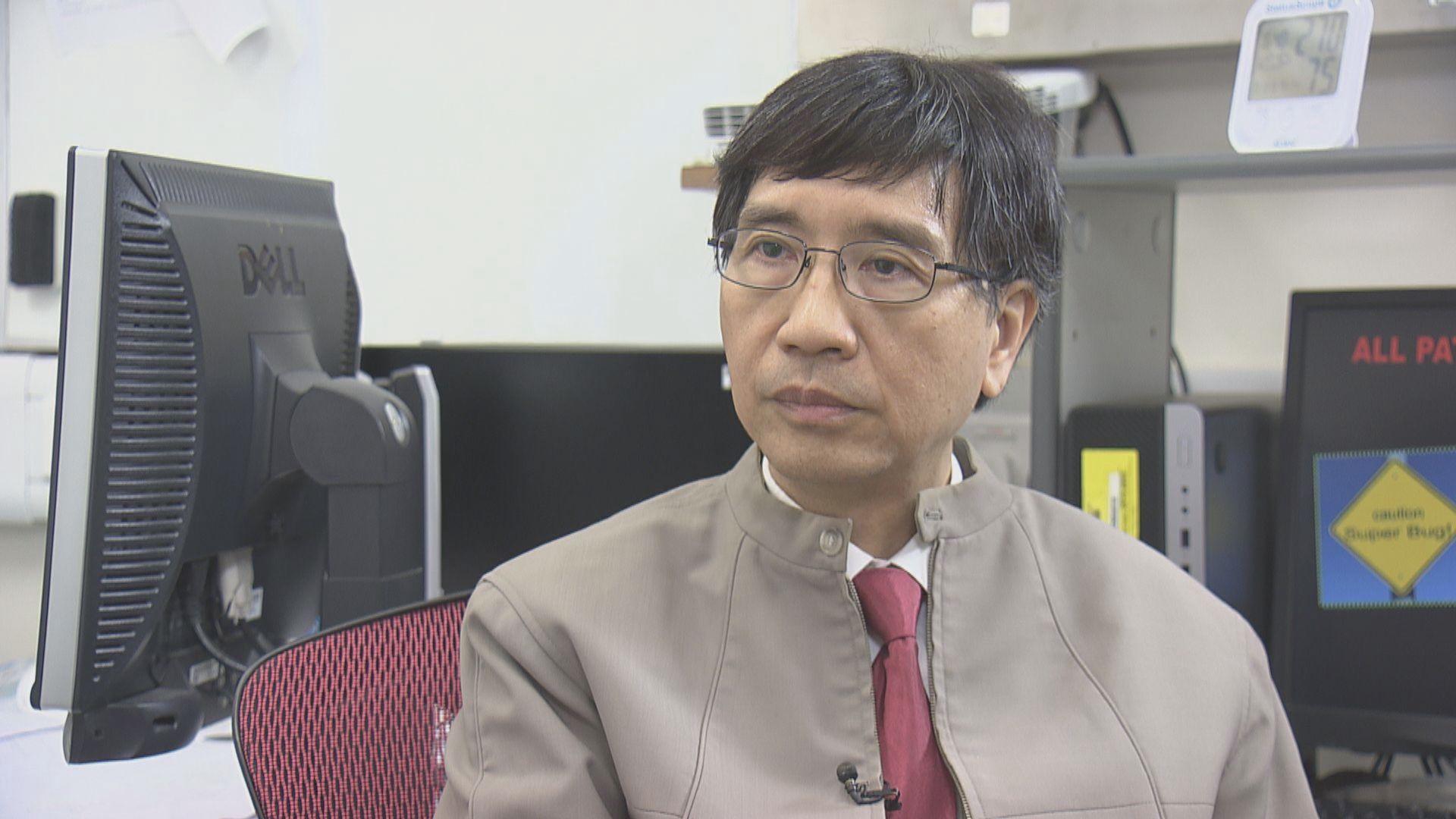 袁國勇:食肆及酒吧沒依足防疫措施導致確診個案上升