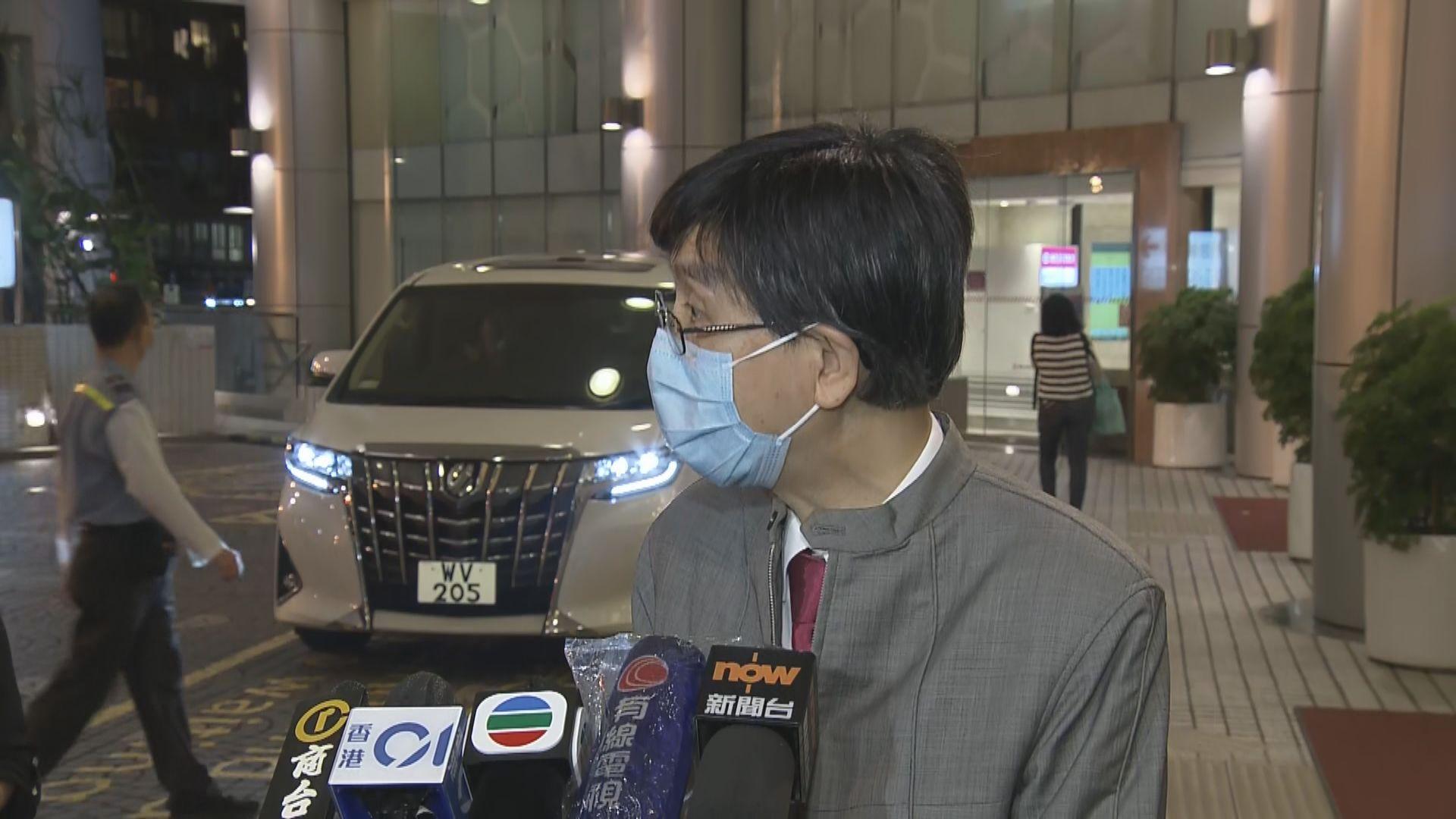 袁國勇:養和醫院個案相信是家人探病時將病毒傳染