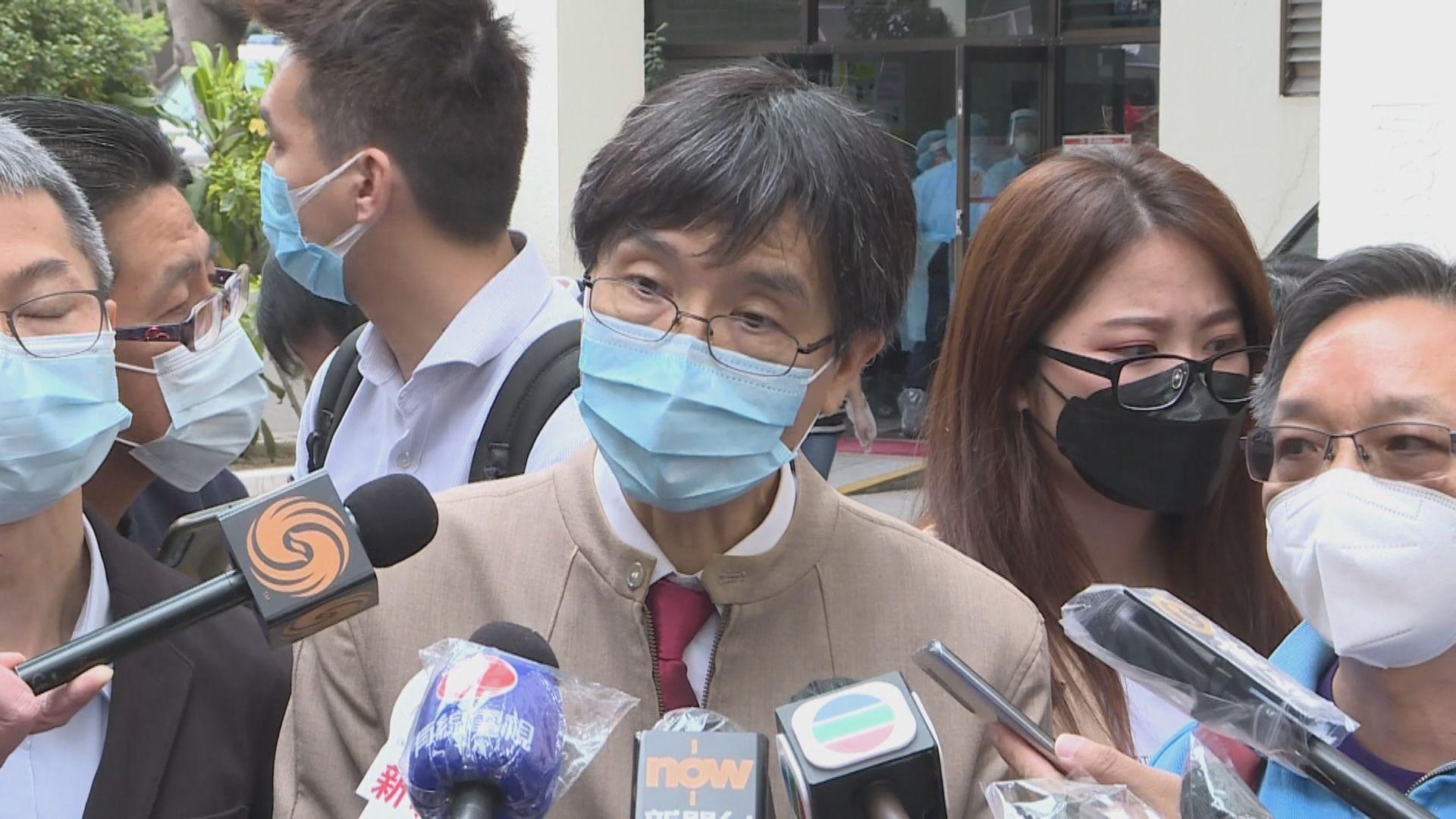 袁國勇:若麗晶花園六座更多住戶確診 需考慮全座撤離