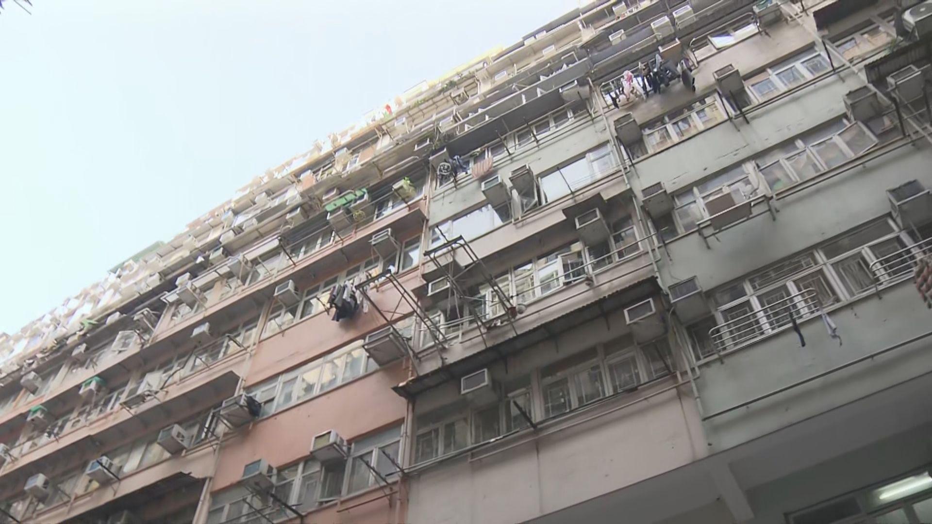 袁國勇:東發大廈C座6和7號室共用天井疑垂直傳播