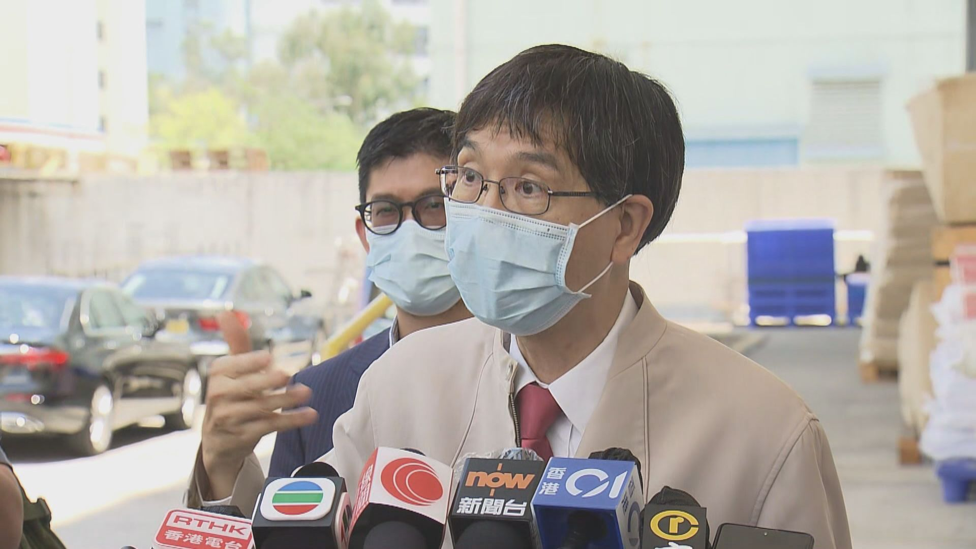 袁國勇疑華大員工實驗室過夜而受病毒基因污染