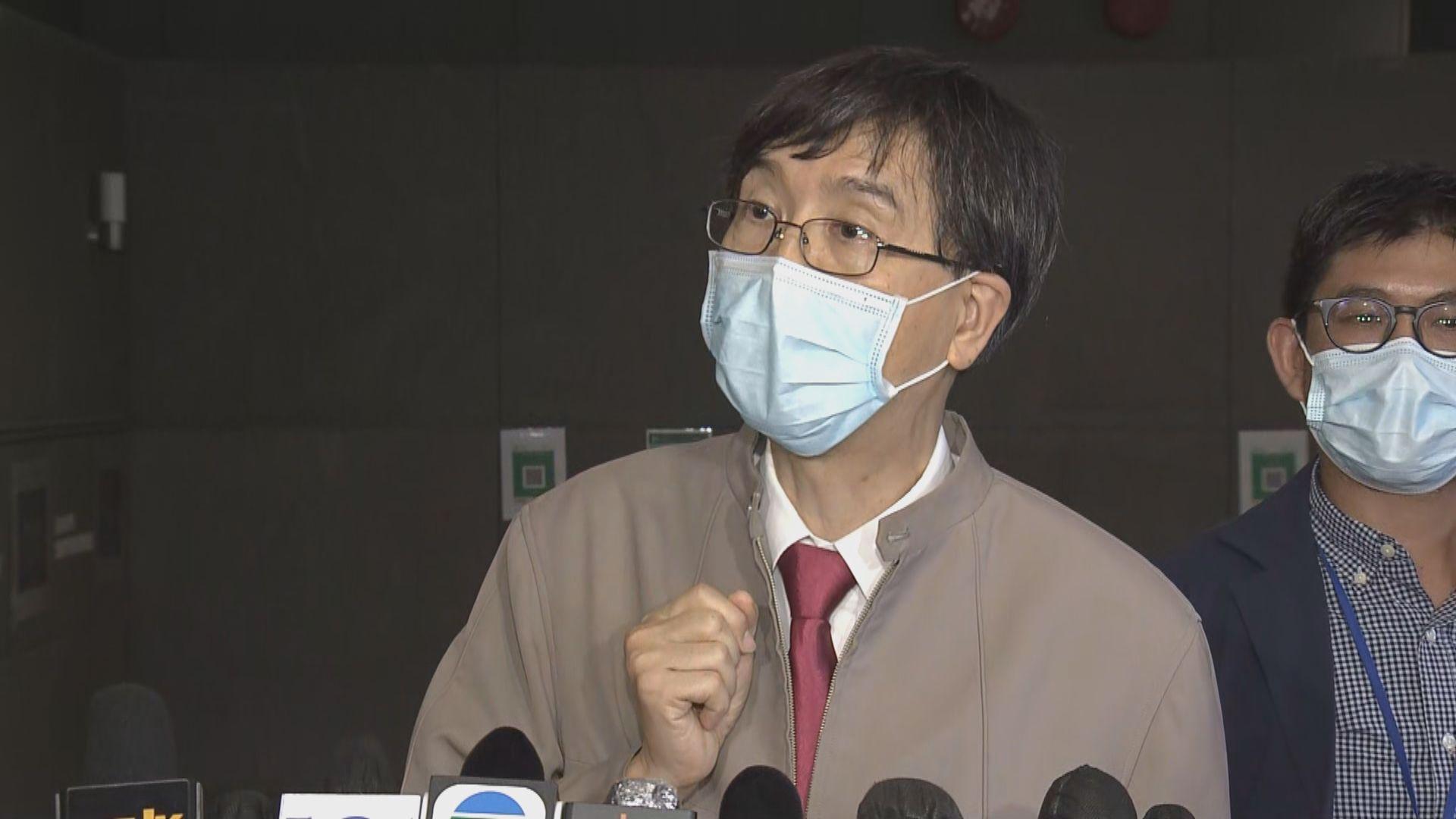 袁國勇:相信男童為真陽性個案 病毒量低致覆檢呈陰性