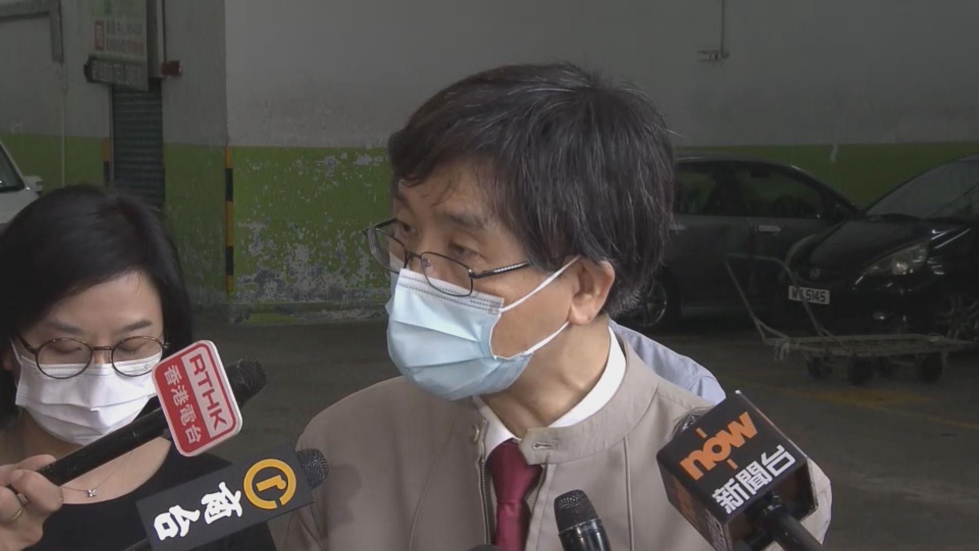 袁國勇倡為密切接觸者做血清測試驗抗體確認曾否染疫