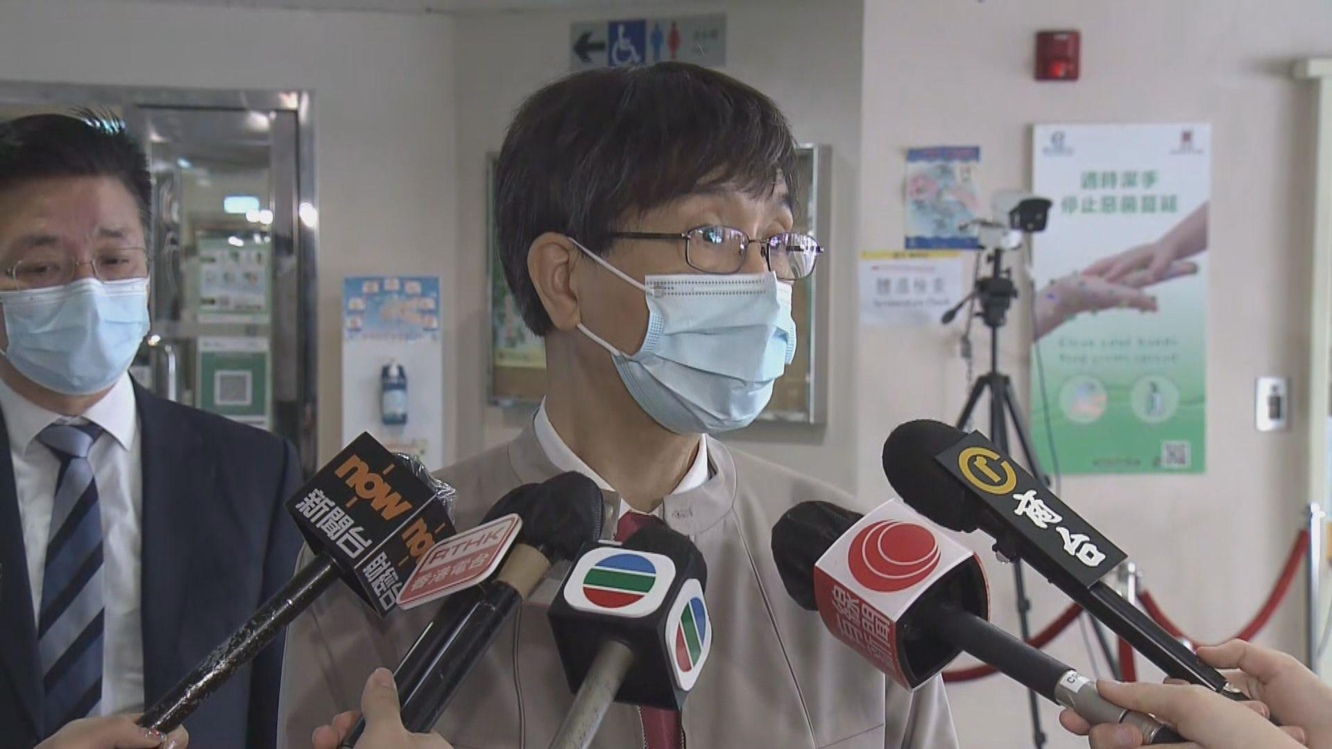 袁國勇:香港疫情已清零惟情況極不穩定 市民應盡快接種疫苗