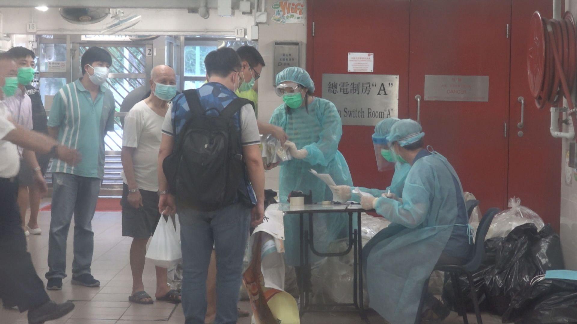 衞生防護中心在梨木樹邨收回逾2100個樣本全呈陰性