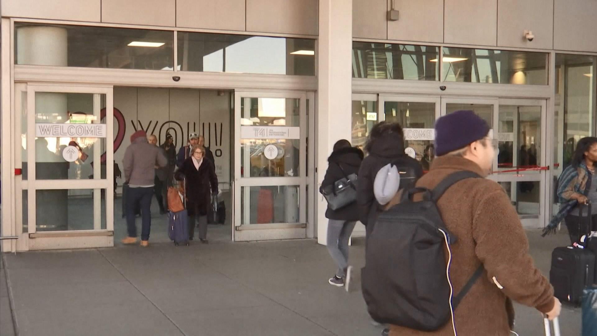 美國機場將檢查來自武漢旅客