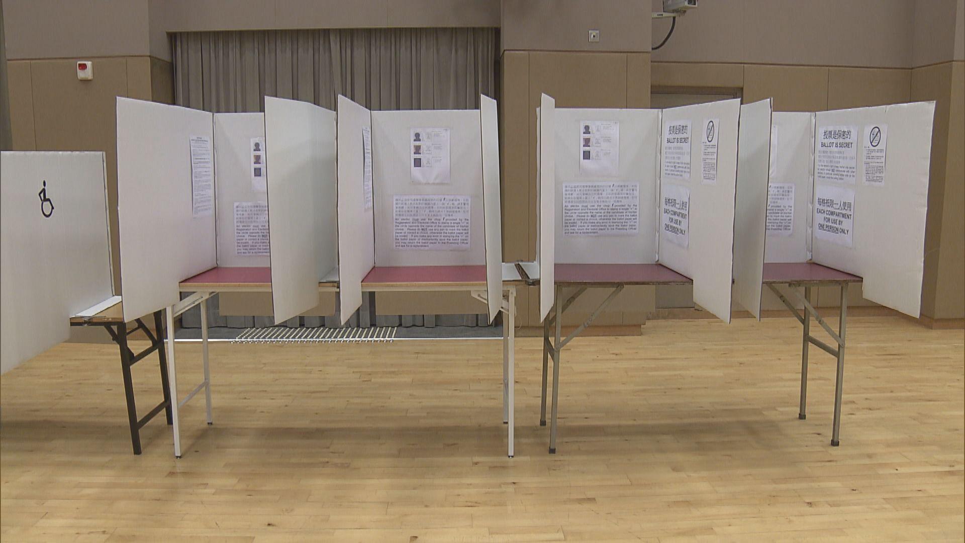 選舉事務處:投票站沒設人面識別系統