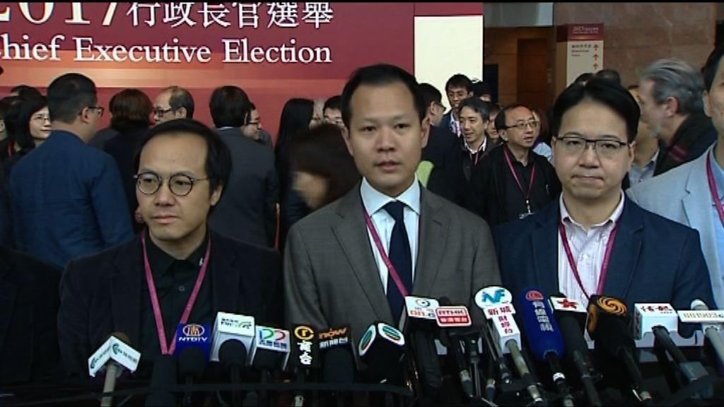 民主300+票投曾俊華