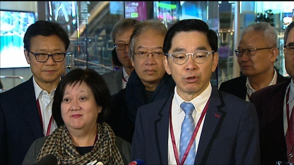 多名建制派選委投票予林鄭月娥