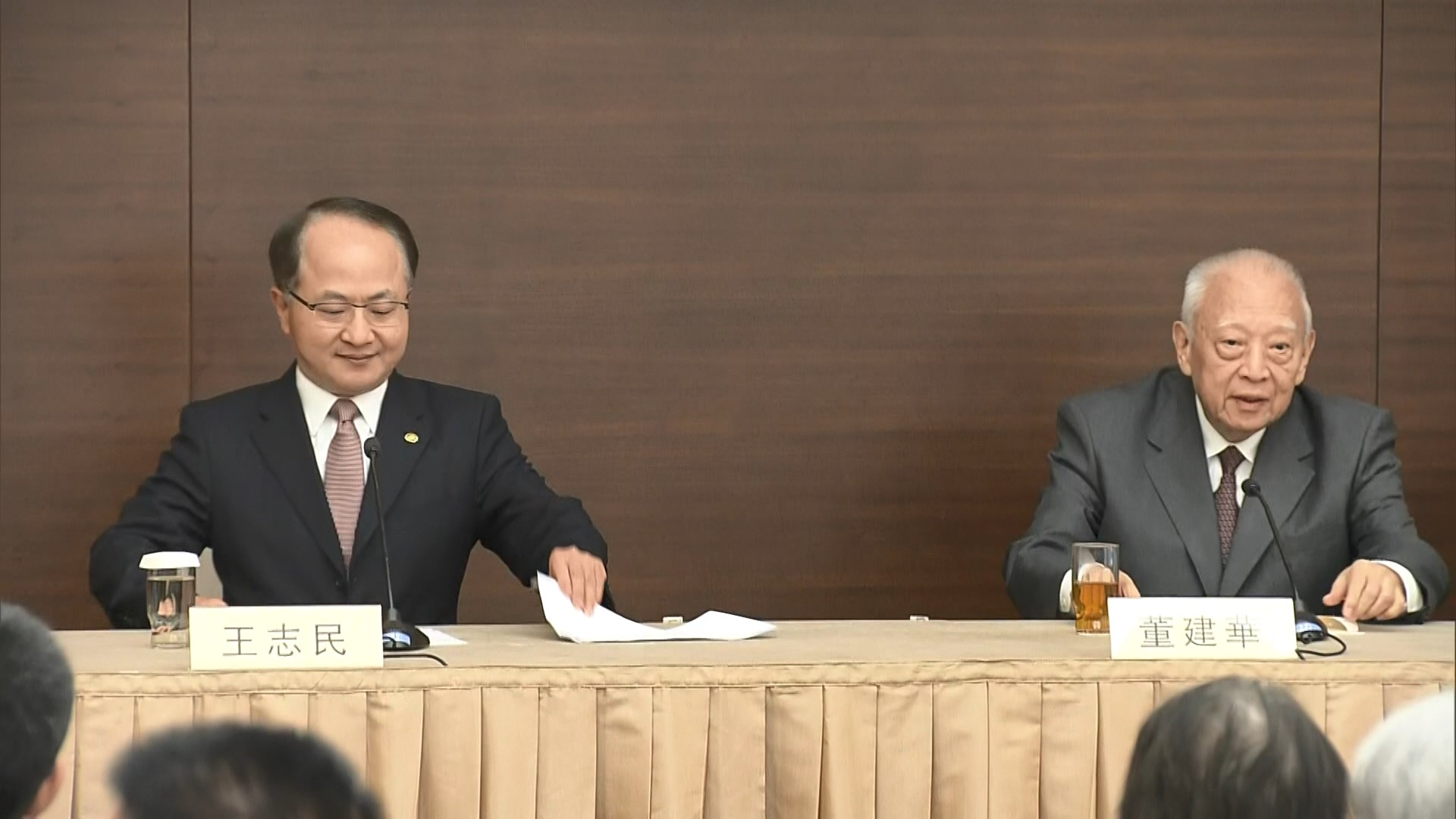 王志民:衝擊立法會公然挑戰法治應予譴責