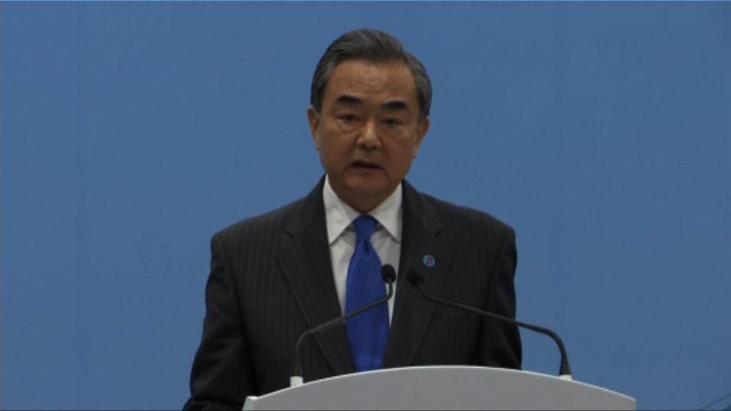 王毅:貿易反擊措施必要及正當