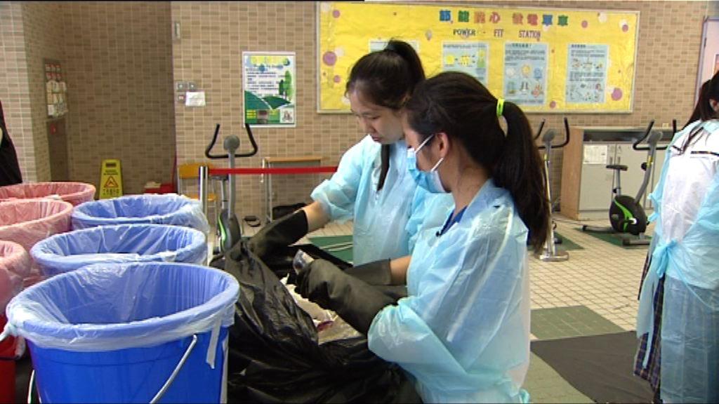 學生垃圾分類 分析廢物產生成因