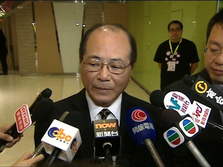 吳克儉:衞生署將跟進水鉛超標學校情況