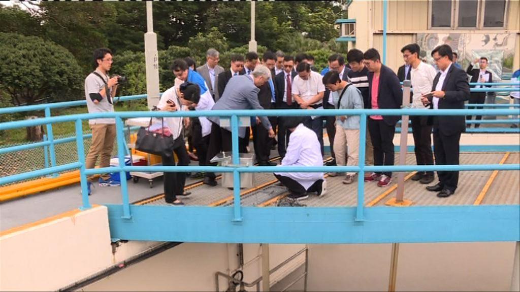 議員視察東江水供水及濾水設施