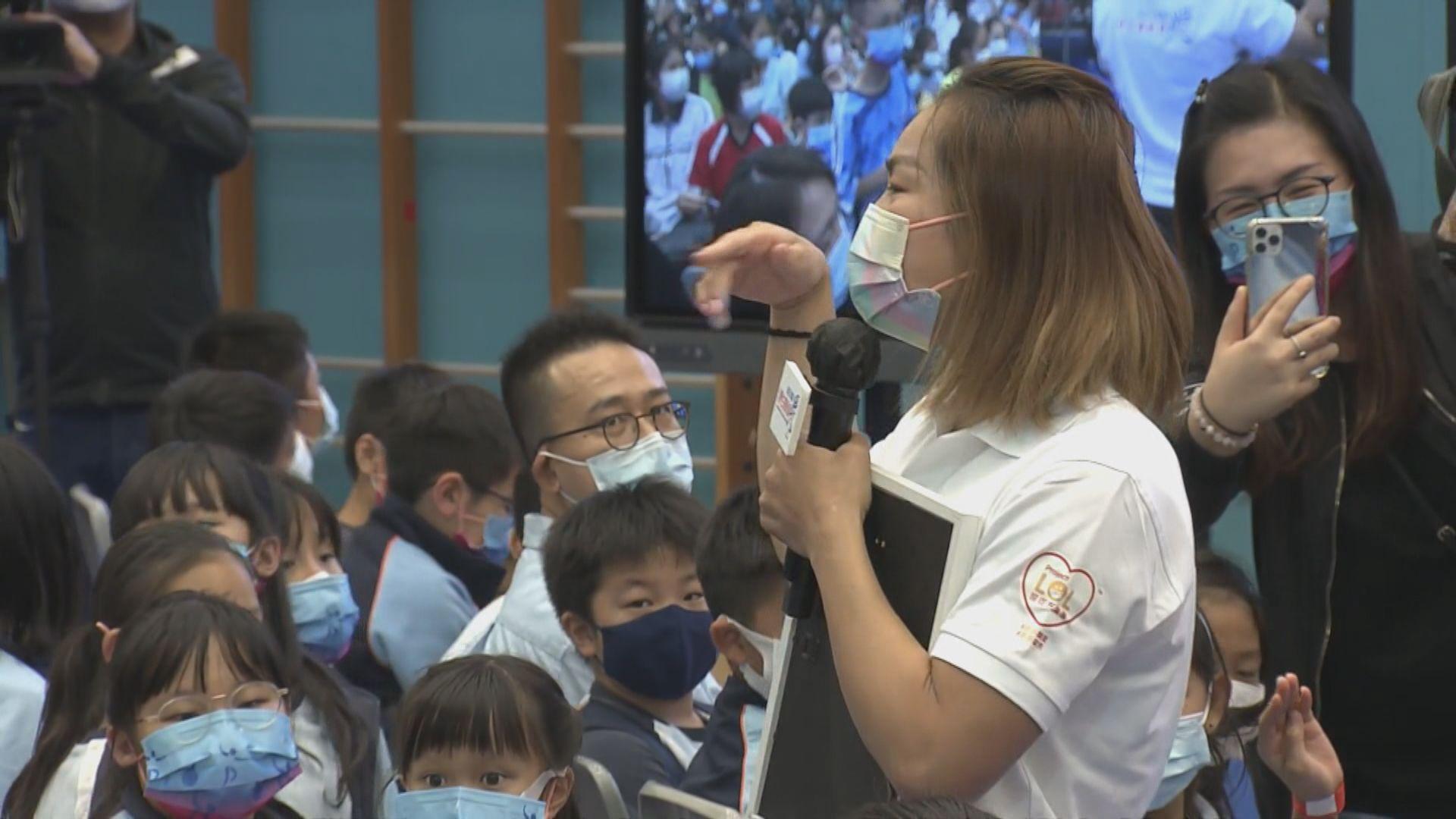 李慧詩出席分享會與學生交流