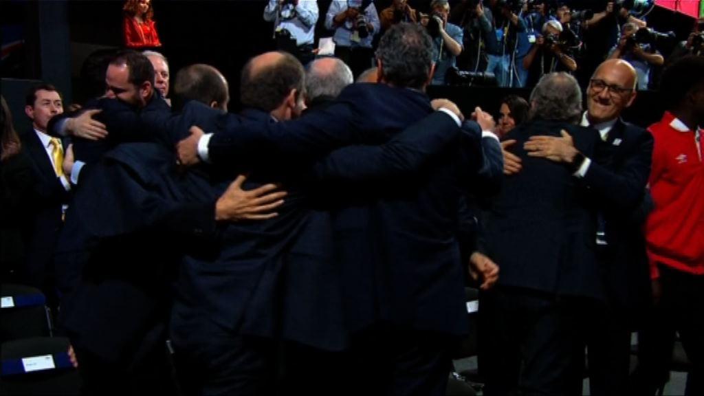 美加墨奪2026世界盃主辦權