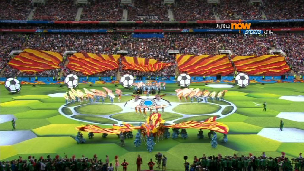 俄羅斯世界盃決賽周正式揭幕