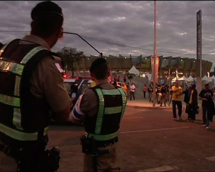 世盃決賽場館提升保安警戒級別