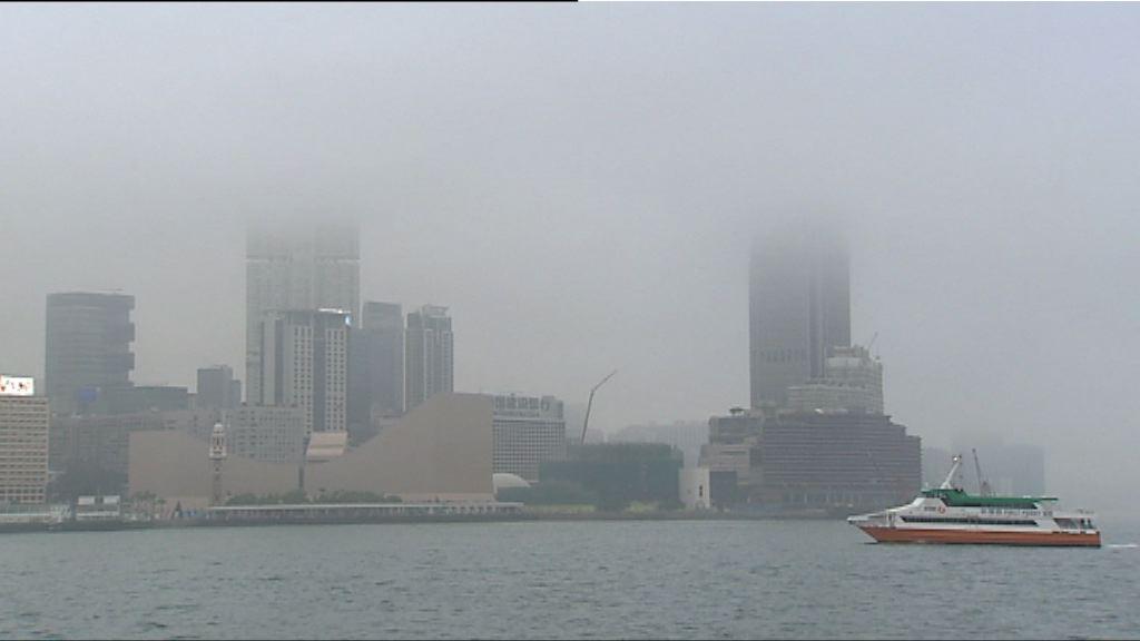 本港今晚最低氣溫跌至10度