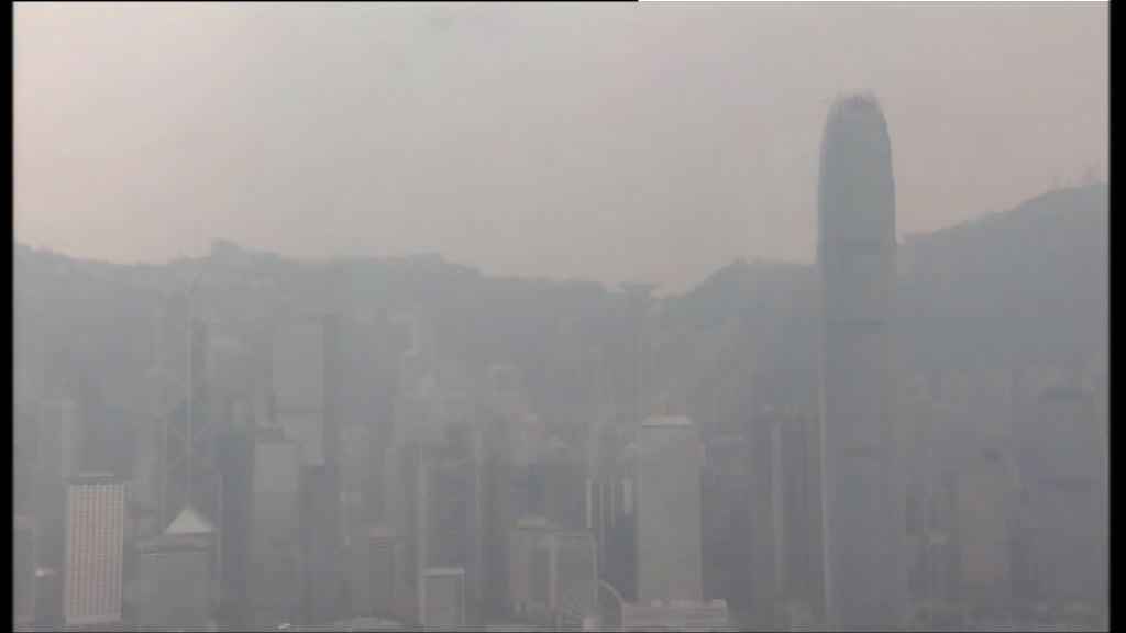 環保署料納沙登陸前空氣污染維持較高水平