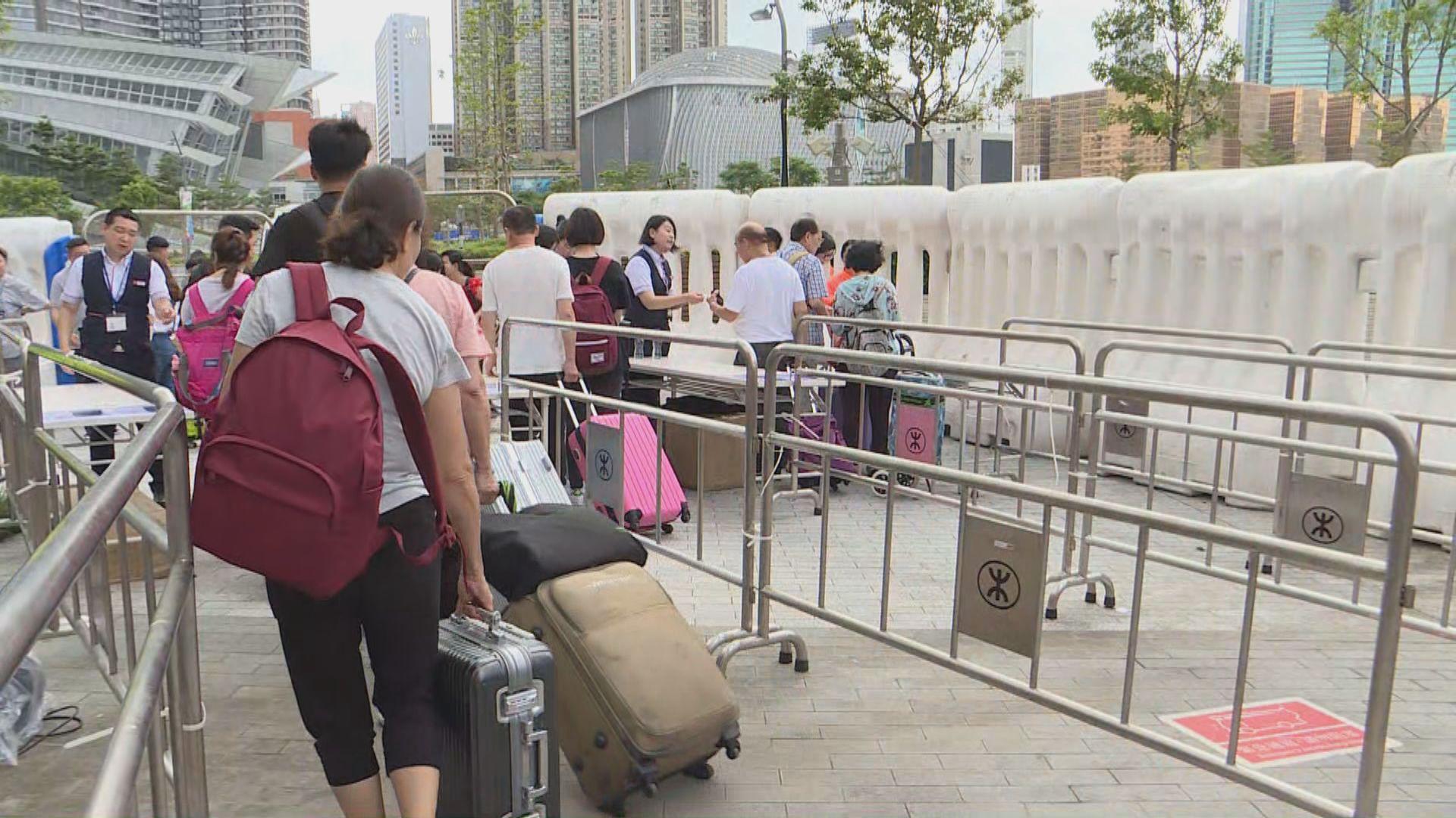 【九龍遊行】有市民認為高鐵西九站布防過嚴