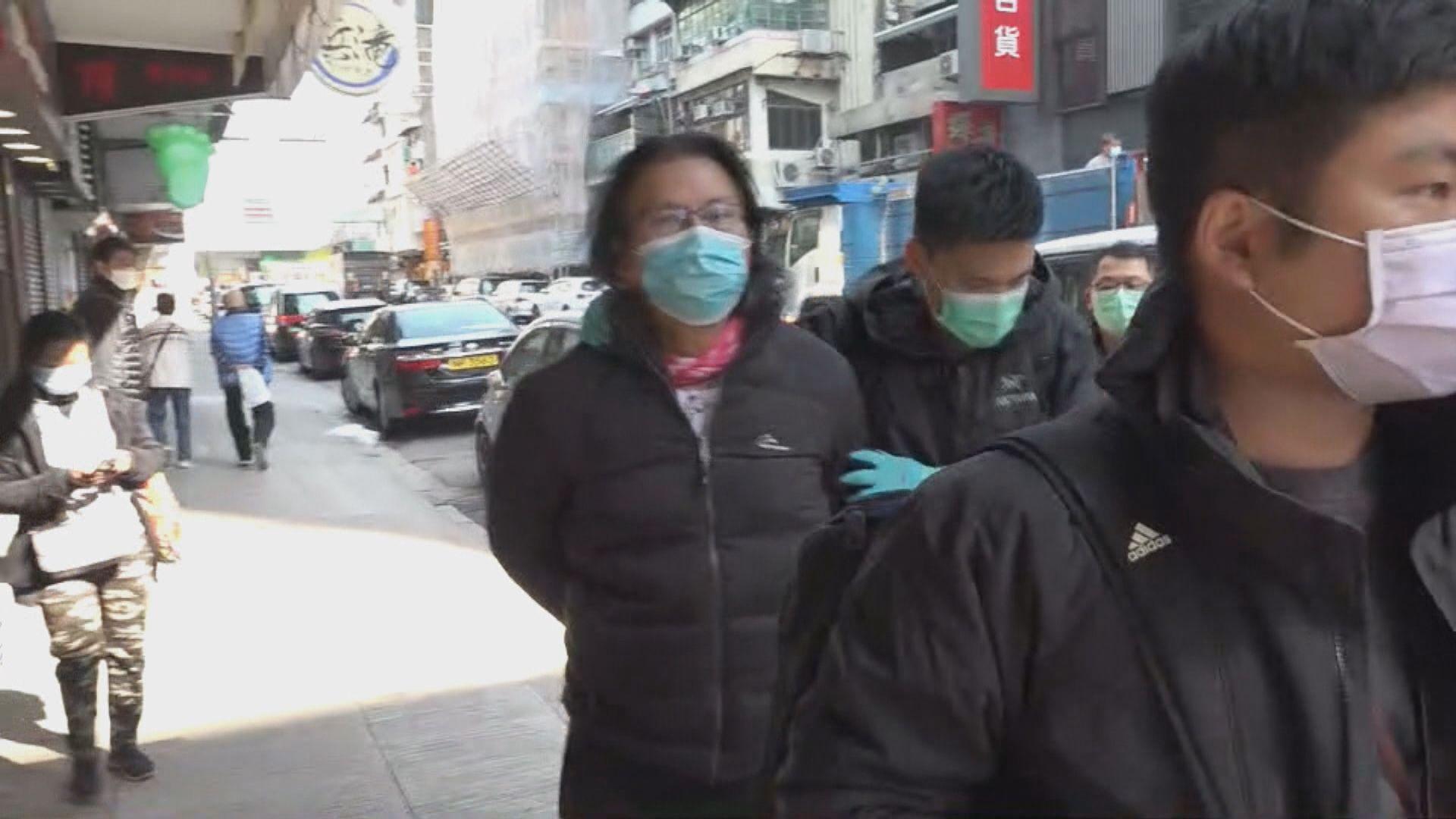 警方國安處拘捕黃國桐 據了解11被捕涉12港人案