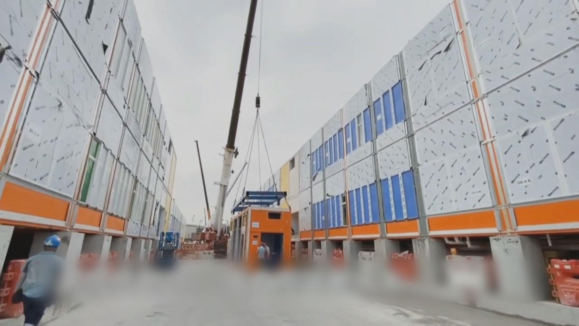 黃偉綸:亞博館旁臨時醫院料明年一月內完工