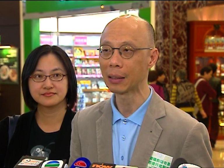 黃錦星到商場宣傳膠袋徵費計劃