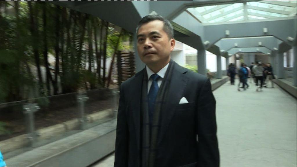 黃仁龍:聽審曾蔭權案非公關安排