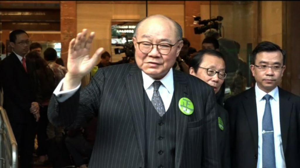 胡國興:會以百分之二百決心阻止林鄭當選