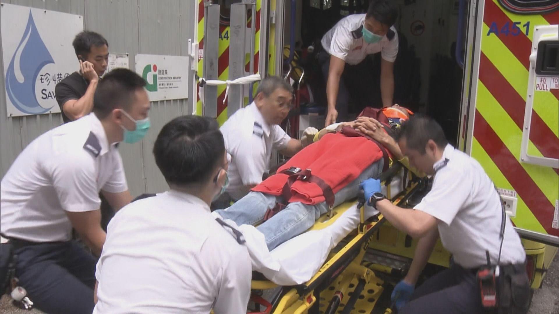 長沙灣兩名工人高處墮下受傷