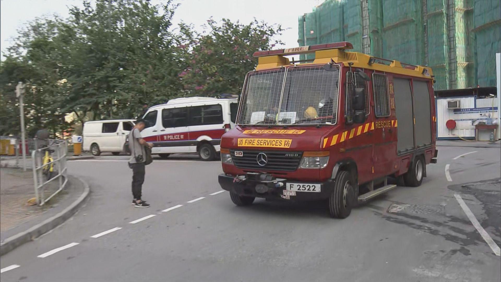 屯門致命工業意外 工人墮升降機槽死亡