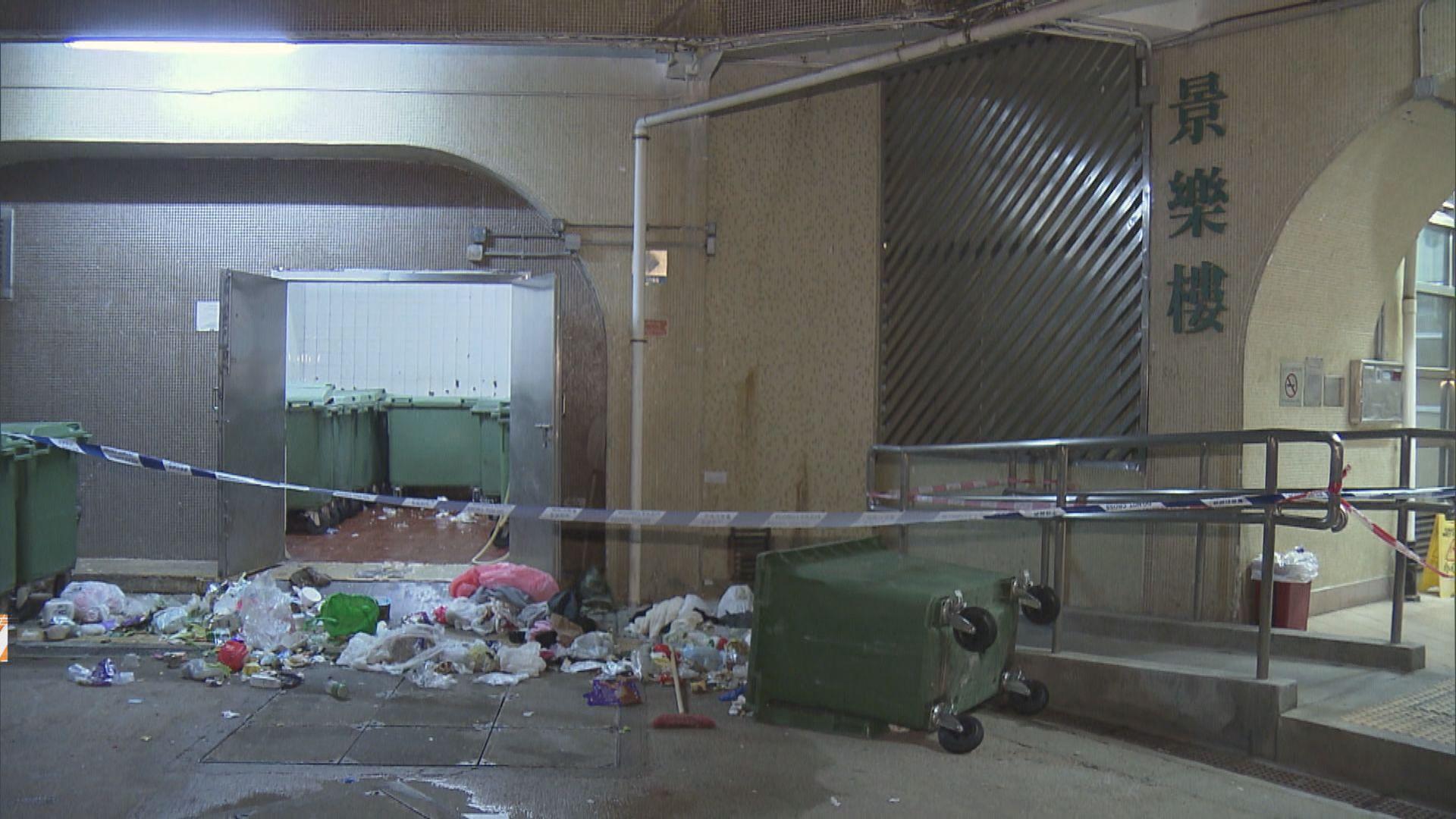 屯門兼職清潔工疑失足墮垃圾槽送院亡