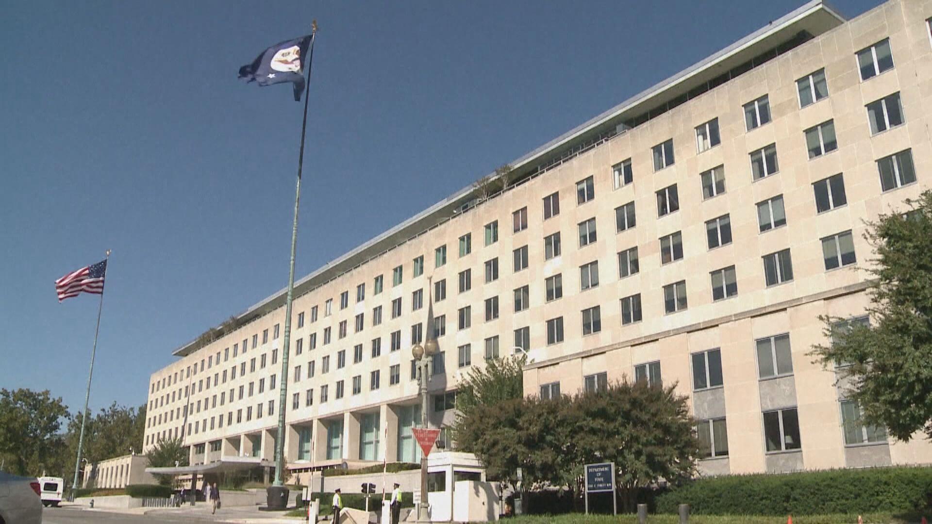 美國批評港府拘捕壹傳媒高層 認為指控基於政治動機