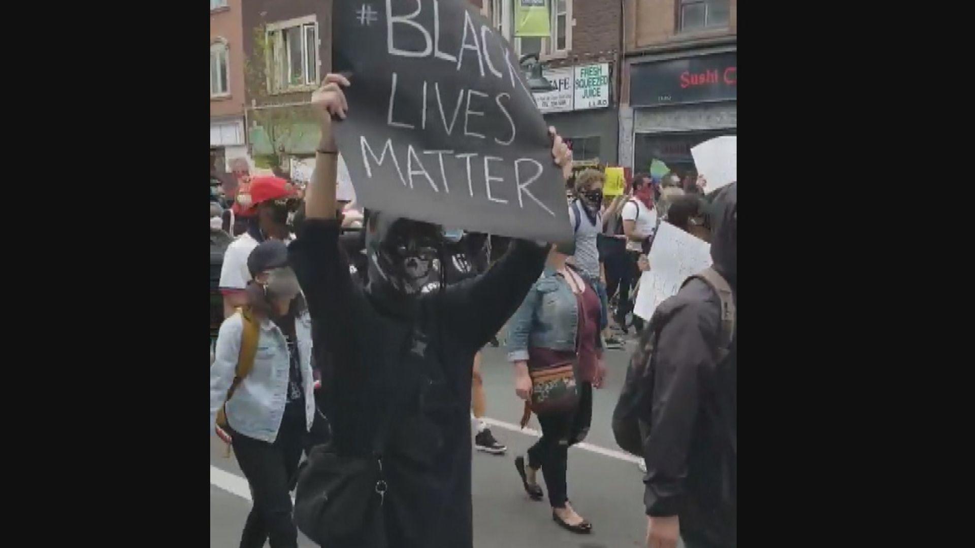 英德加等國有示威抗議針對黑人暴力