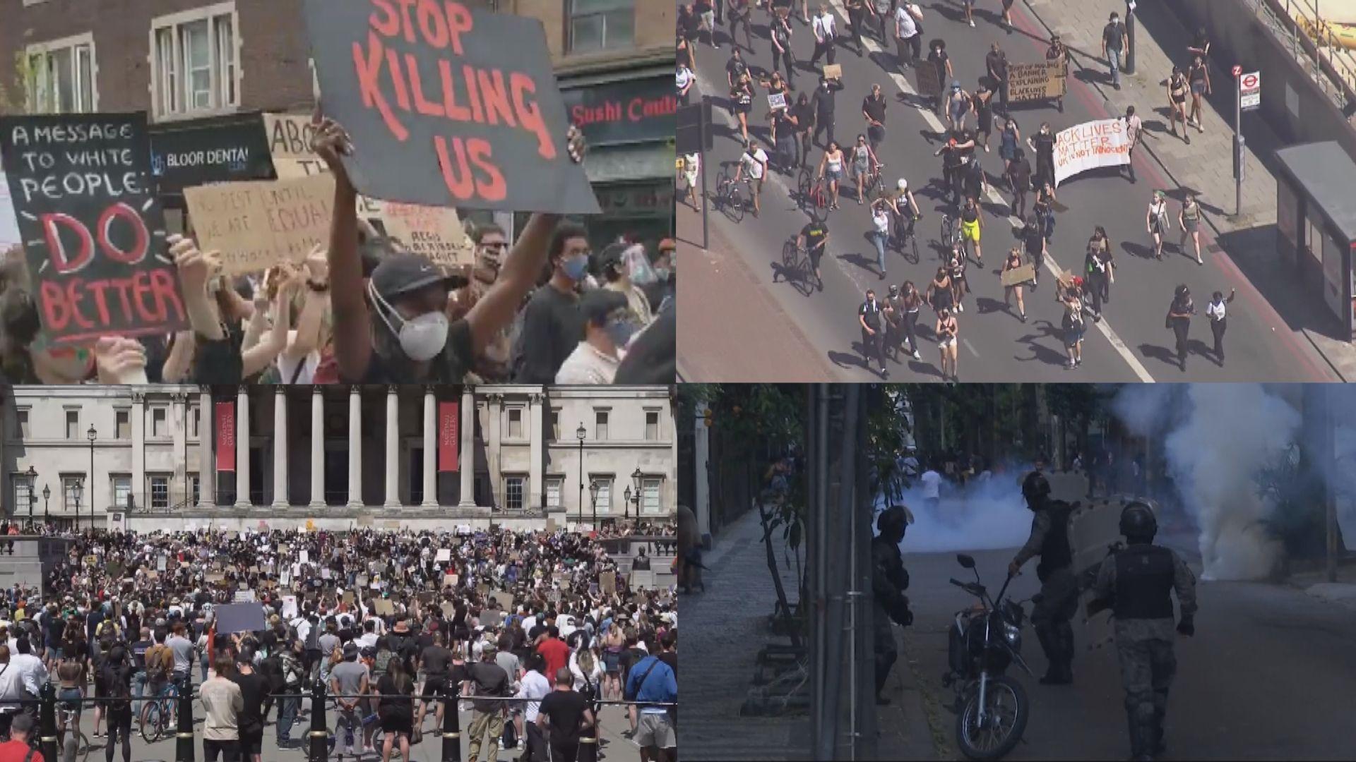 美示威浪潮席捲全球 外交部批評美方典型雙重標準