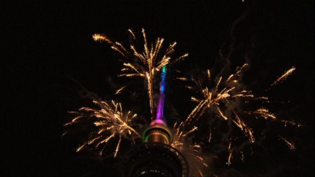 澳洲發放彩虹煙花象徵通過同性婚姻合法化