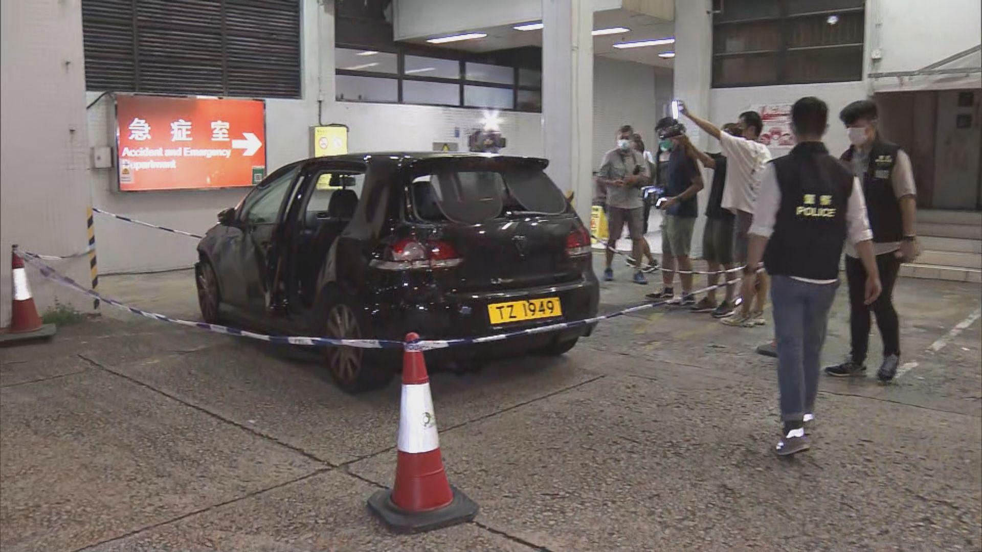 男子遇襲中刀負傷駕車抵廣華醫院求醫