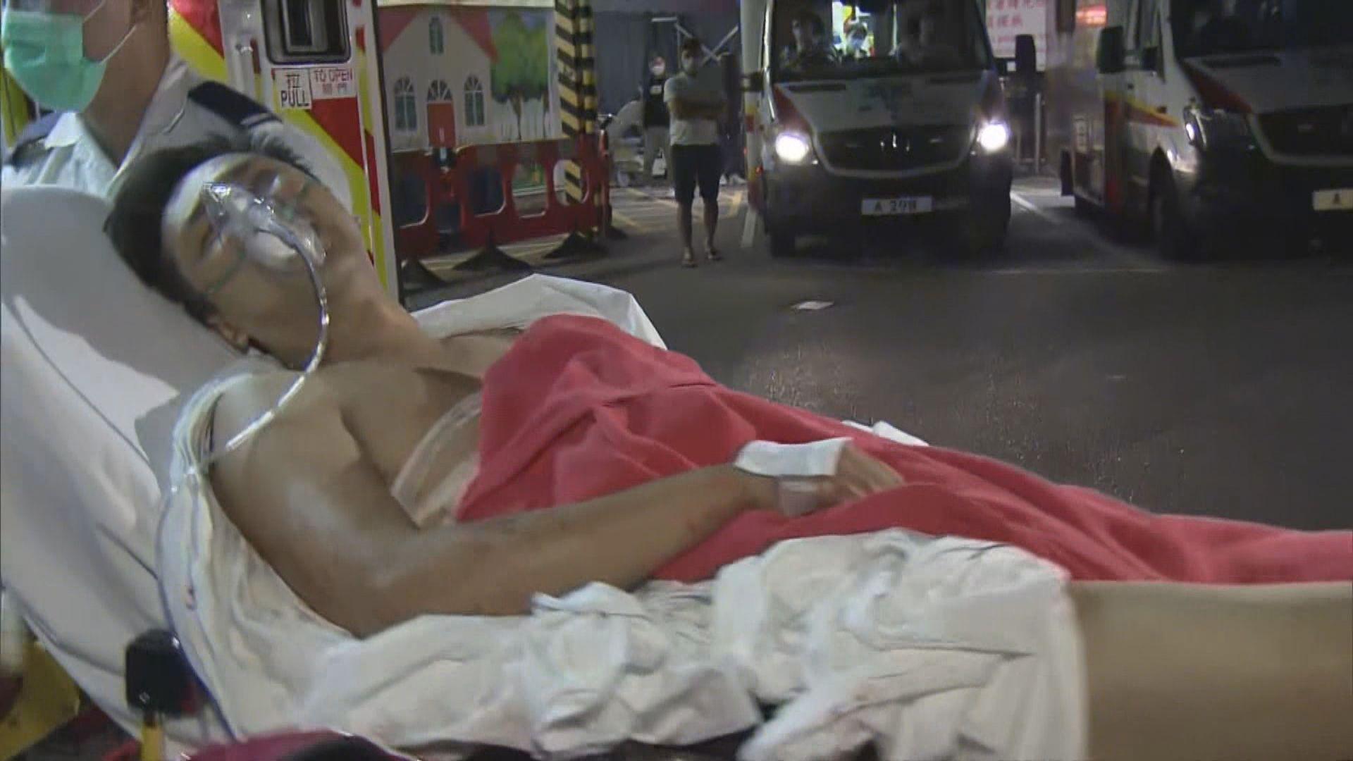 油麻地四名男子遇襲中刀受傷