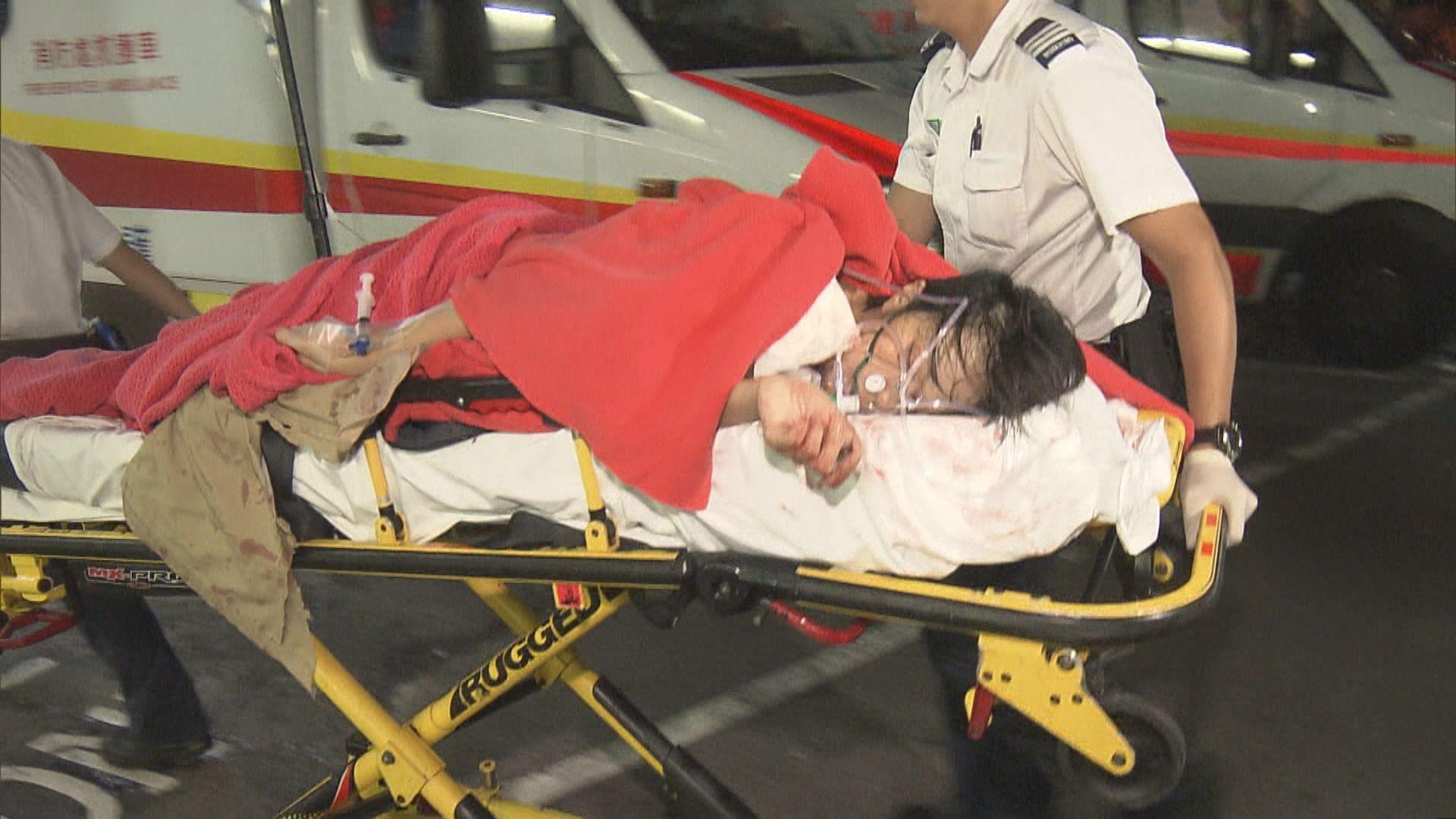 將軍澳傷人案三名青年受傷送院