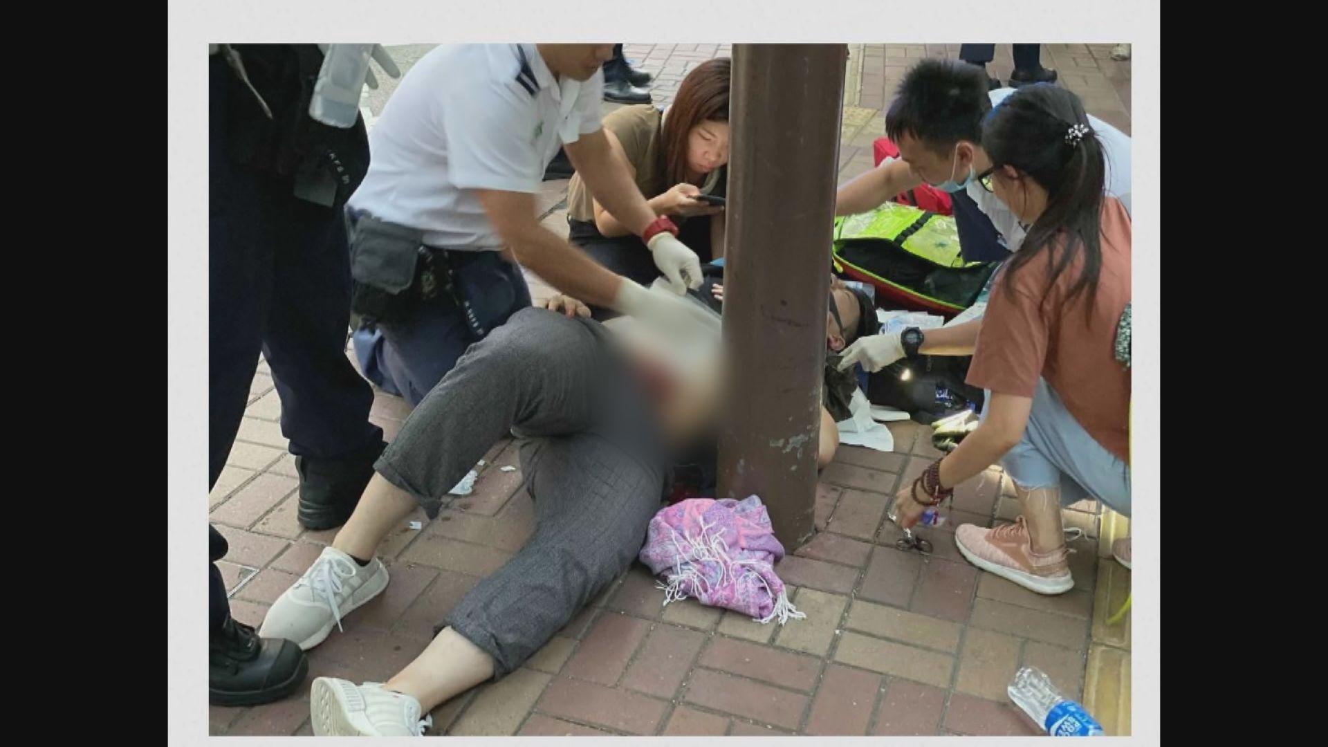 19歲男子被政見不同人士用刀襲擊傷腹部