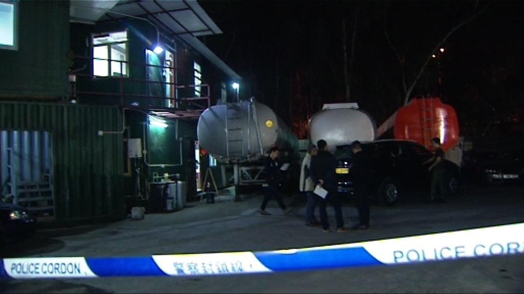 落馬洲貨櫃場三人遇襲受傷