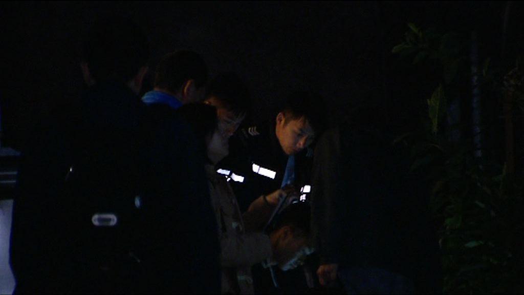 上水軍地村傷人案 兩青年有刀傷