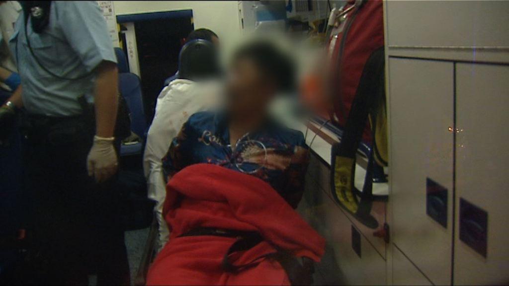 深水埗兩漢遭斬傷 一人被捕