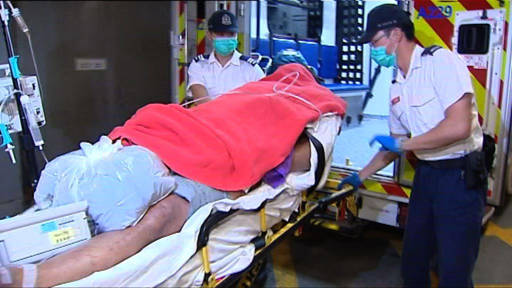 元朗大棠路男子遇襲受傷昏迷