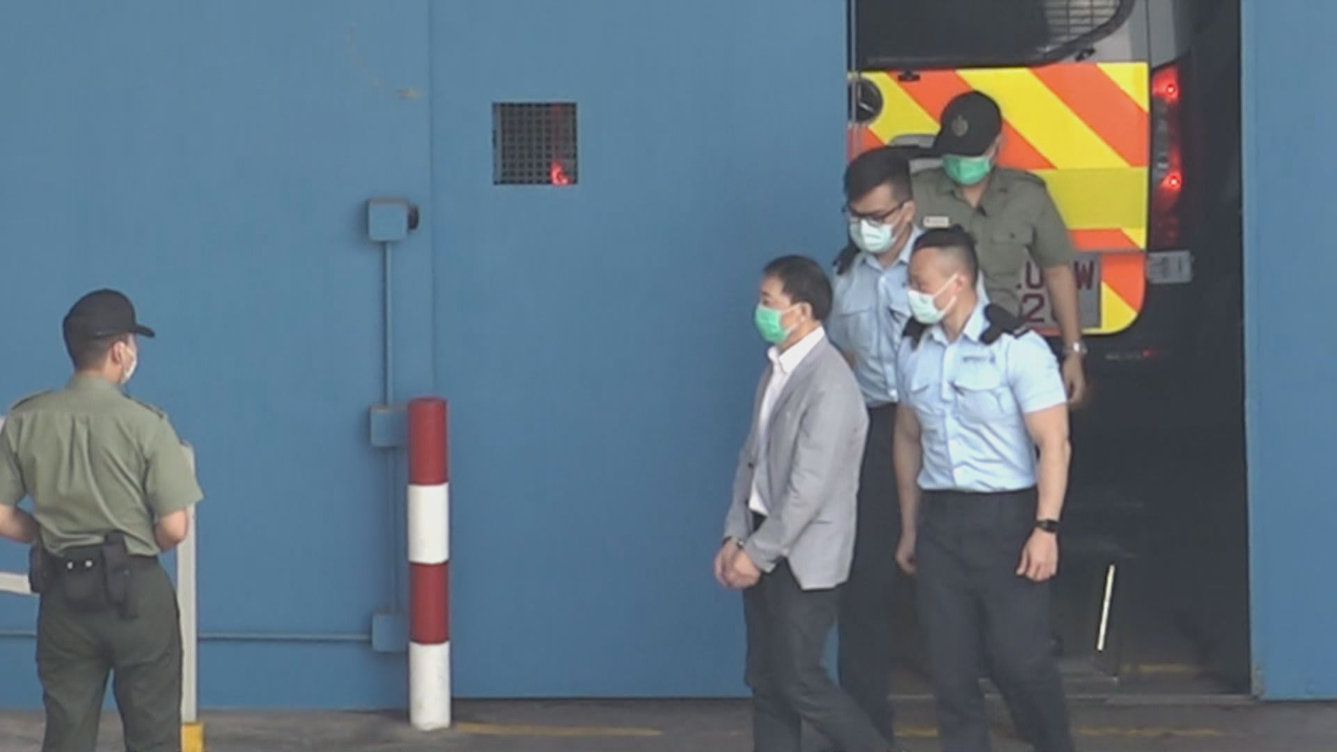 胡志偉有條件保釋出席父親喪禮 逗留半小時並跟年邁母親一聚